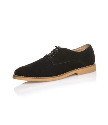 Chaussure basse homme noire à lacets