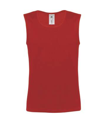 B&C Mens Move Sleeveless Athletic Sports Vest Top (Black) - UTRW3499
