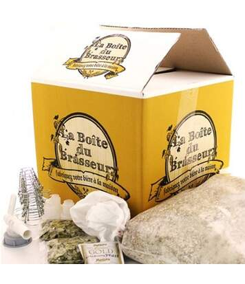 Kit fabrication Bière Blonde maison