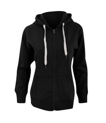 Mantis Womens/Ladies Superstar Zip Hooded Sweatshirt / Hoodie (Burgundy) - UTBC2691