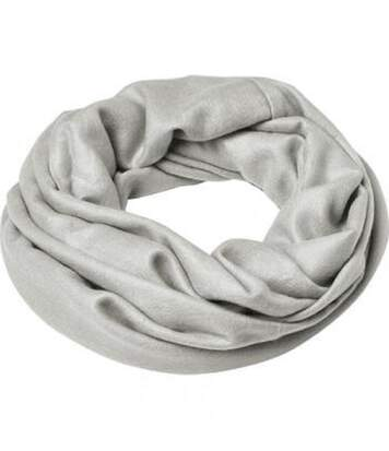 Echarpe - Tour de cou adulte - Taille unique - MB7307 - gris clair