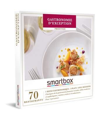 SMARTBOX - Gastronomie d'exception - Coffret Cadeau Gastronomie