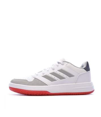Baskets blanches homme Adidas Gametalker