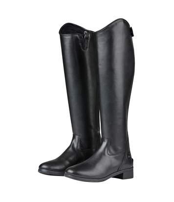 Saxon - Bottes Hautes D'équitation  Syntovia - Femme (Noir) - UTWB810