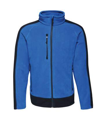 Regatta Contrast Mens 300 Fleece Top/Jacket (New Royal/Navy) - UTRW6352
