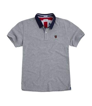 Polo gris Homme Pepe Jeans Peter