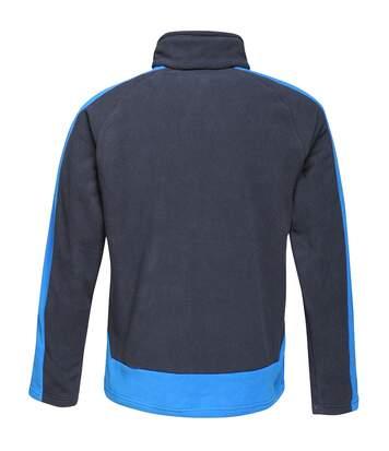 Regatta Mens Contrast 300 Fleece Jacket (Navy/New Royal) - UTPC3319
