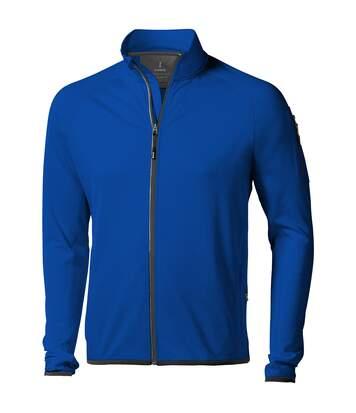 Elevate Mens Mani Power Fleece Full Zip Jacket (Blue) - UTPF1942