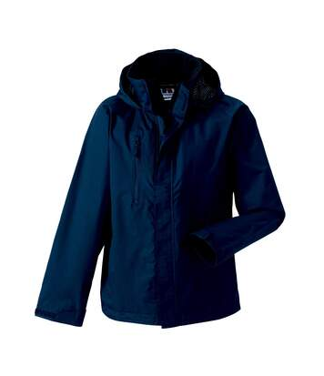 Jerzees Colours Mens Premium Hydraplus 2000 Water Resistant Jacket (French Navy) - UTBC564