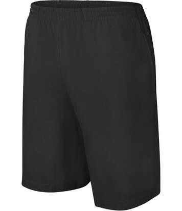 short jersey Homme - PA151- noir
