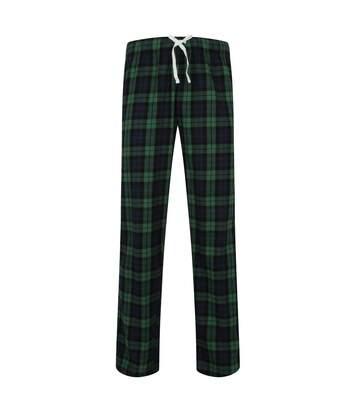 Skinnifit - Pantalon De Pyjama En Tartan - Homme (Bleu marine / vert) - UTRW6023