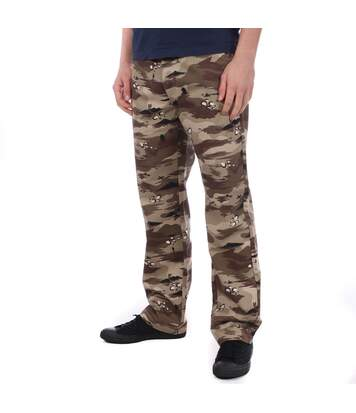 Pantalon marron camouflage Homme Vans Authentic
