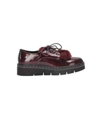 XTI Chaussures style oxford verni  Femme