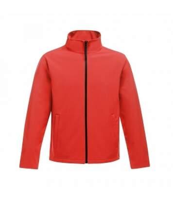 Regatta Mens Ablaze Printable Softshell Jacket (Classic Red/Black) - UTRG3560