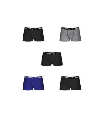 Lot de 5 boxers homme en coton Umbro