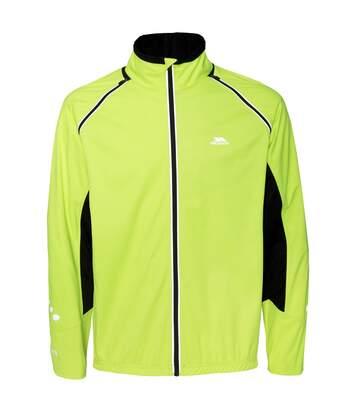 Trespass Mens Aaron Hi Vis Convertible Softshell Jacket (Hi Visibility Yellow) - UTTP3358