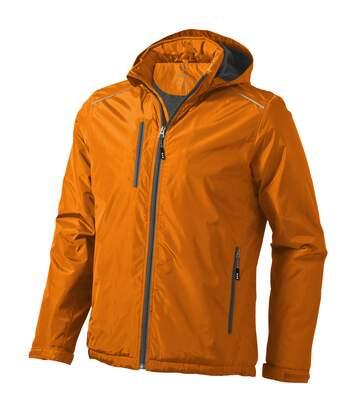 Elevate Mens Smithers Fleece Lined Jacket (Orange) - UTPF1909