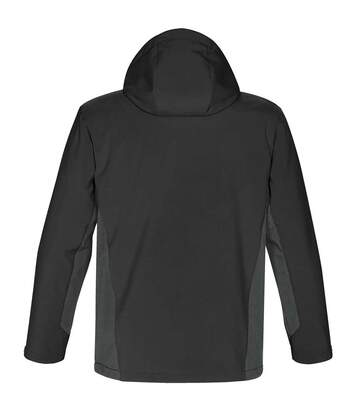 Stormtech Mens Atmosphere 3-in-1 Performance System Jacket (Waterproof & Breathable) (Black/Granite) - UTBC3074