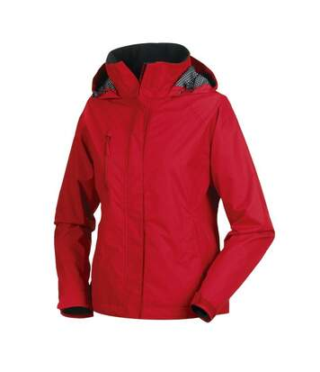 Jerzees Colours Ladies Premium Hydraplus 2000 Waterproof Jacket (Classic Red) - UTBC563