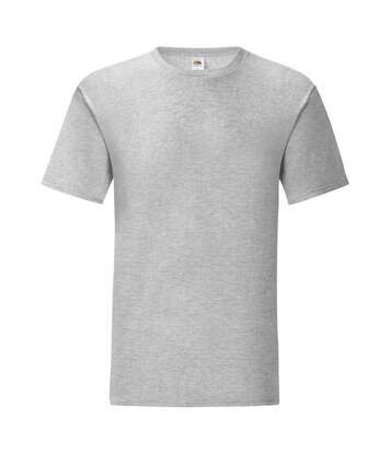 Fruit Of The Loom Mens Iconic T-Shirt (Heather Grey) - UTPC3389