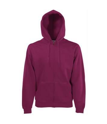 Fruit Of The Loom Mens Premium 70/30 Hooded Zip-Up Sweatshirt / Hoodie (Classic Olive) - UTRW3161