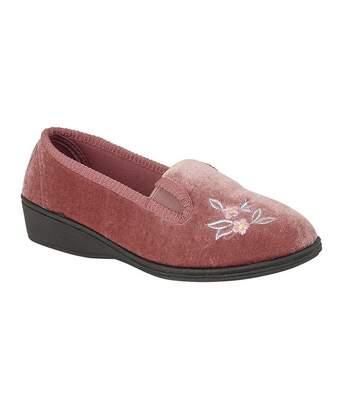 Sleepers Womens/Ladies Gina Full Gusset Slippers (Heather) - UTDF1731