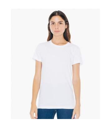 American Apparel - T-Shirt - Femme (Eau) - UTBC4005