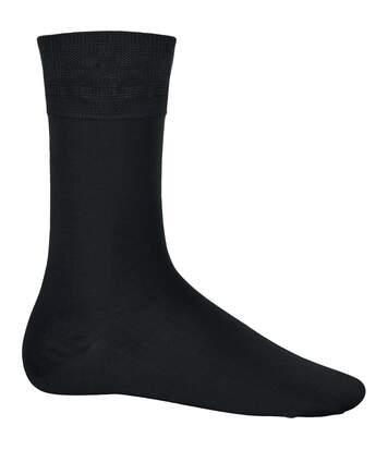 Kariban Cotton City Mens Casual Cotton Rich Socks (Black) - UTRW4205