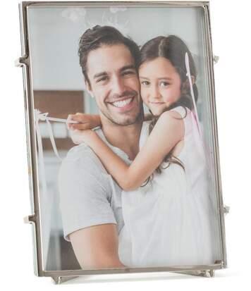 Cadre photo à poser en métal Square 13x18 cm