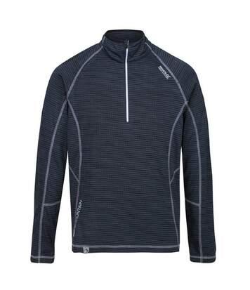 Regatta Mens Yonder Quick Dry Moisture Wicking Half Zip Fleece Jacket (Brunswick Blue) - UTRG3786