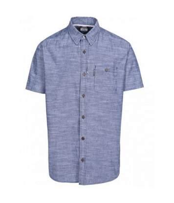 Trespass Mens Slapton Short Sleeve Shirt (Navy) - UTTP4686