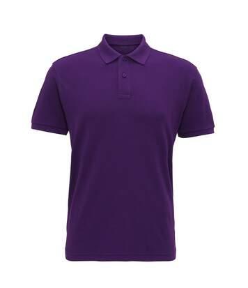 Asquith & Fox Mens Super Smooth Knit Polo Shirt (Purple) - UTRW6026