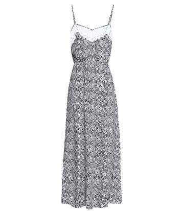 Robe longue imprimé tropical  -  Molly bracken - Femme