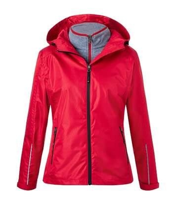 Veste polyvalente 3 en 1 - Femme - JN1153 - rouge