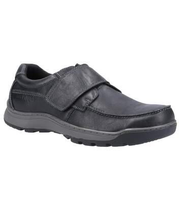 Hush Puppies - Chaussures en cuir CASPER - Homme (Noir) - UTFS7397