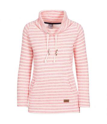 Trespass Womens Cheery Striped Pull Over (Peach) - UTTP4711