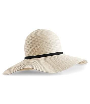 Beechfield - Chapeau De Paille Marbella - Femme (Beige) - UTPC3142
