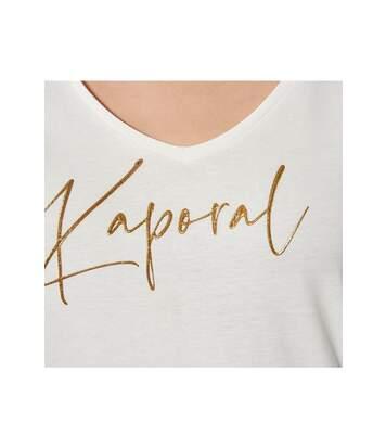 Tee shirt à logo   -  Femme - Kaporal
