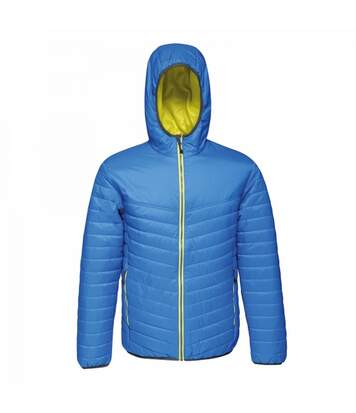 Regatta Mens Acadia II Hooded Jacket (Light Blue/Lemon Yellow) - UTRG3745