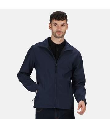 Regatta Classic Mens Water Repellent Softshell Jacket (Navy) - UTRG2166
