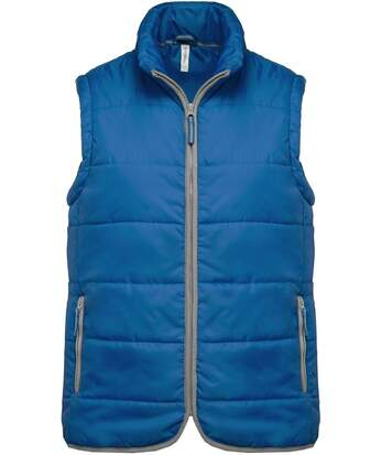 Doudoune sans manches - K6116 - bleu roi - bodywarmer matelassé