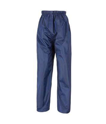 Result Mens Core Stormdri Rain Over Trousers / Pants (Black) - UTBC2053