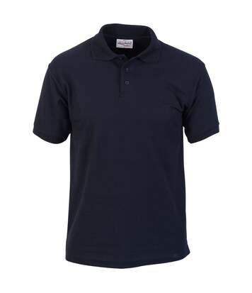 Absolute Apparel Mens Precision Polo (Navy) - UTAB105
