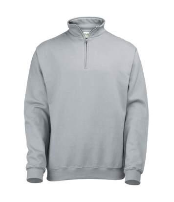 Awdis - Sweatshirt À Fermeture Zippée - Homme (Gris foncé) - UTRW177