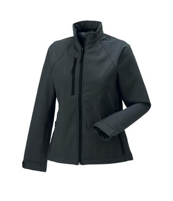 Jerzees Colours Ladies Water Resistant & Windproof Soft Shell Jacket (Titanium) - UTBC561