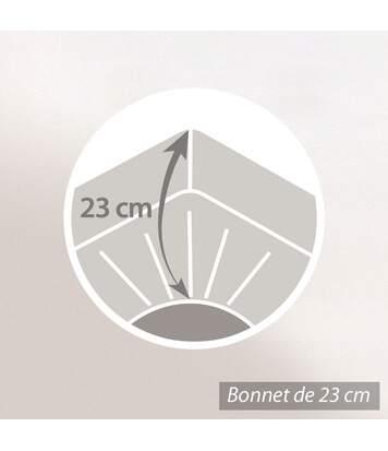 Protège matelas imperméable 2x100x220 ANTONY Spécial lit articulé TR Molleton enduction acrylique
