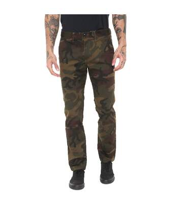 Pantalon Chino Camouflage Homme Vans Authentic