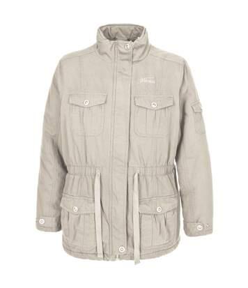 Trespass Womens/Ladies Lakewood Casual Canvas Jacket (Sandy) - UTTP1644