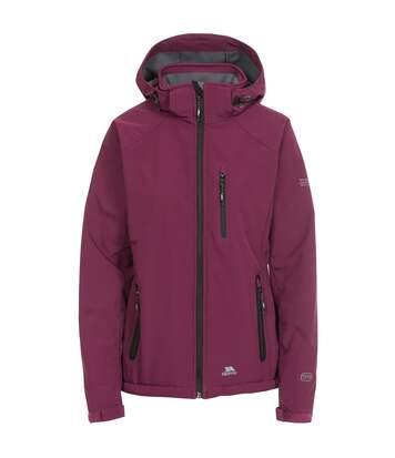 Trespass Womens/Ladies Bela II Waterproof Softshell Jacket (Grape Wine) - UTTP3440