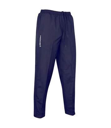 KooGa Adults Unisex Elite Sport Track Pants (Navy) - UTRW5011